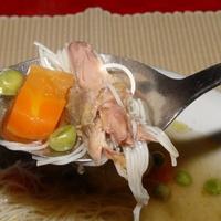 Gyöngytyúk leves bio forrásból