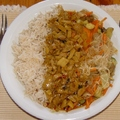 Piros gomba curry