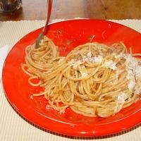 Cukkínis paradicsomos spagetti
