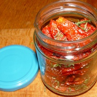 Napon szárított paradicsom (Sun dried tomato) frissítve!