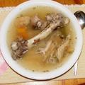 Gazdag pulykacsont- és szárny leves