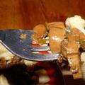Vörösboros erdei gombaszósz gnocchival