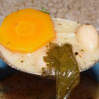 Klasszikus fejtettbab-leves