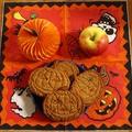 Halloween tök keksz