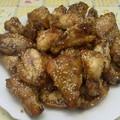 Szezámmagos csirkeszárny