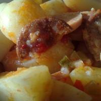 Paprikás újkrumpli