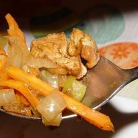 Szűzpecsenye thai módra