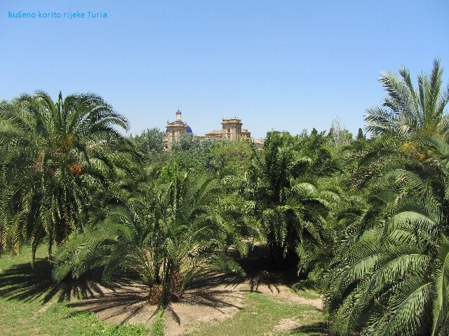 Valencia - korito rijeke Turia