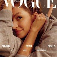 Gisele Bündchen divat történelmet írt a Vogou Italia címlapjával