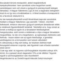 Felháborító a Magyar Rákellenes Liga hirdetése!