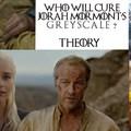 Így gyógyul meg a Jorah Mormont a szürke leprából a Trónok harcában!