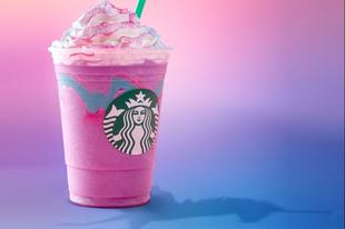 Megérkezett az Unikorninos Frappuccino