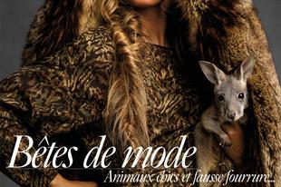 Gisele Bündchen bébi kenguruval buzdít az állatvédelemre a Vogue hasábjain!
