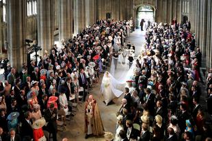 Ilyen volt Harry herceg és Meghan Markle esküvője képekben