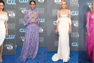 Íme a Critics' Choice Awards legszebb ruhakölteményei