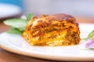 Mennyei lasagna tészta nélkül, gluténmentesen
