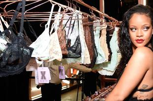 Rihanna már fehérneműt is tervez