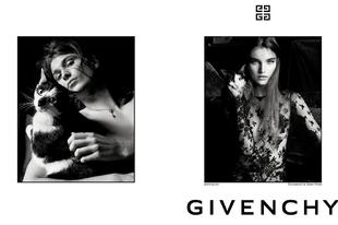 Szuper nőies cicás kampánnyal debütált a Givenchy 2018-as kollekciója