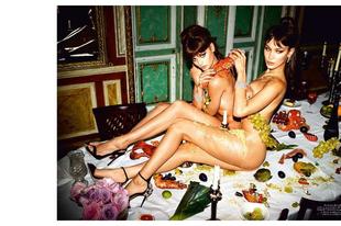 Mocskosan szexire sikeredett a Vogue Italy ünnepi kiadványa