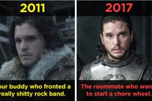 Ennyit változtak a Trónok harca szereplői az első évad óta