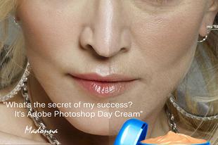 Madonna és a photoshop