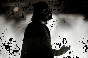 Ilyen, amikor egy szőrpamacs lenyomja Darth Vader-t és még jól rá is ver!