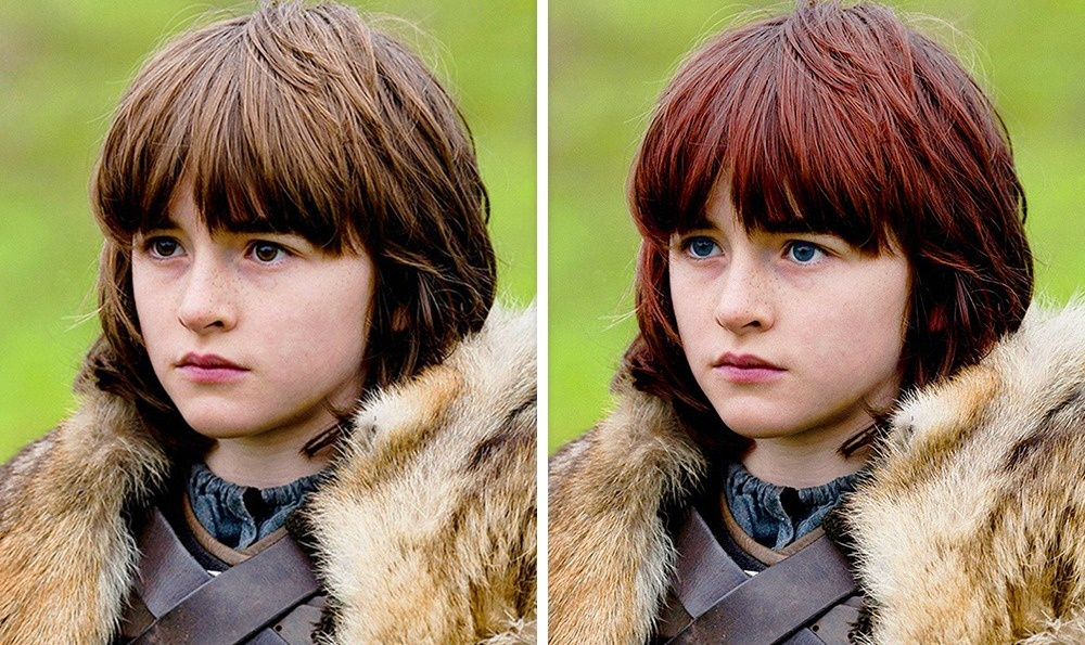 Bran Stark: Vörös haj