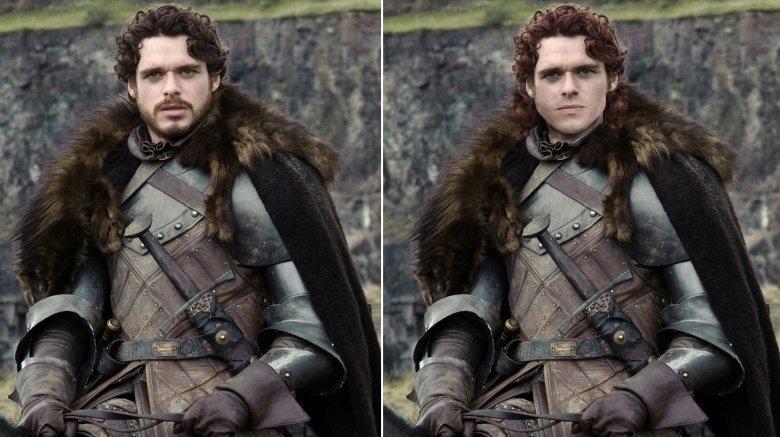 Robb Stark:Vörös haj