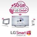 Most 50 GB-os az LG felhője
