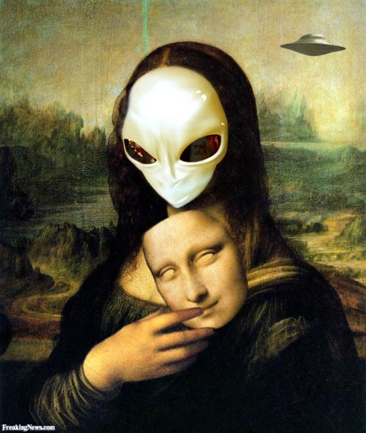 Az ufonauta-Mona Lisa