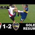 2 piros 10 sárgalap és 3 gól a 200. River–Boca rangadón!