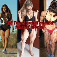 A legbrutálisabb combú fitness modellek