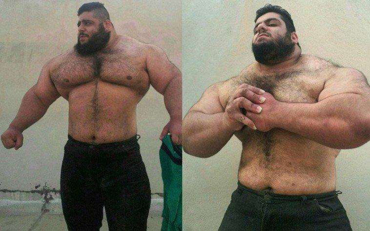 Perzsa Hulk: csupa szív természet rejlik a 175 kg mögött