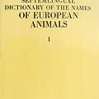 Gozmány Lászó, Steinmann Henrik és Szily Ernő (1979): Vocabularium Nominum Animalium Europae Septem Linguis Redactum.