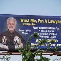 Ügyvédreklám#3: Minden kutya őt ajánlaná