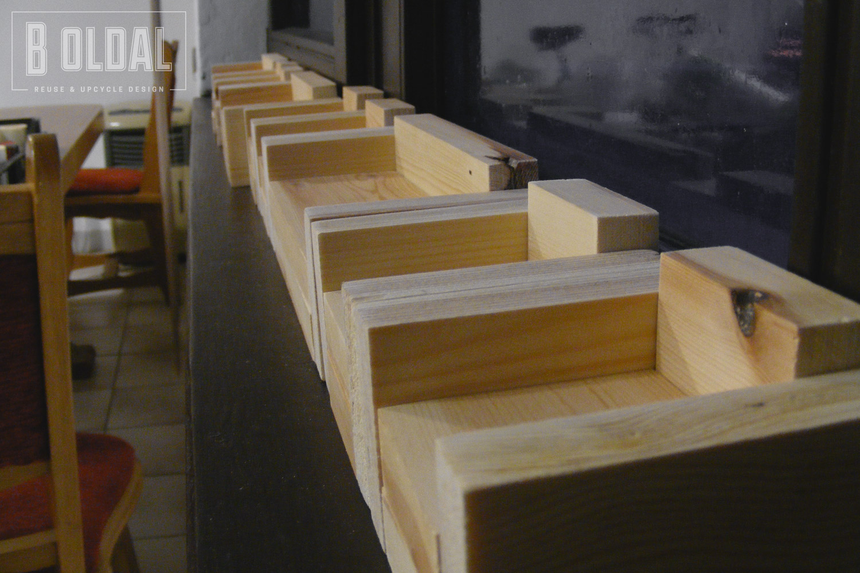 Modern babaház bútor házilag, otthon fellelhető anyagokból - B oldal
