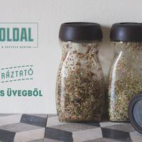 Kávés üveg átalakítása otthoni csíráztatáshoz