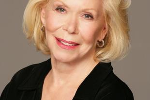 Louise L. Hay a világ egyik nagy boldogság professzor asszonya