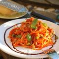 Zöldborsós-makrélás spagetti