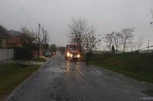Több mint 300 millió forint kárt okozott a vasárnapi vihar: Győrben is sok lehet a károsult