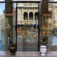Zsolnay üzlet Bécs szívében