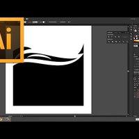 Illustrator – Összetett alakzat mint vágómaszk