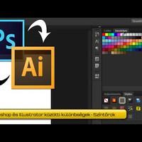 Photoshop vs. Illustrator 1. – A színtárak közötti különbségek