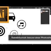 Illustrator – Szimbólumok beszerzése Photoshopból