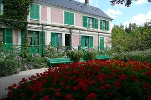 Normandiai marhaszelet, almatorta, calvados-vendégségben Monet-nál