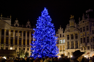Karácsony Brüsszelben, avagy hogyan ünnepelnek a belgák?