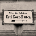 Esti Kornél utcát Budapestnek