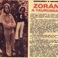 Taurus 1973 április vége
