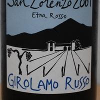 Azienda Girolamo Russo: San Lorenzo Etna Rosso 2009.