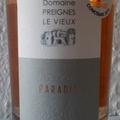 Tegnap ittam - Domaine Preignes Le Vieux Paradis 2015 - francia rosé az Aldiból